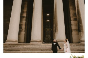 Winter Wedding At Heinz Chapel And The Priory