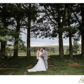 wedding photos at the hayloft
