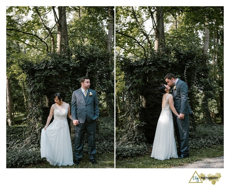 the hyeholde pittsburgh wedding photos � alyssa amp dan