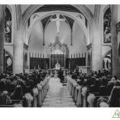 Blessed Sacrament Cathedral wedding